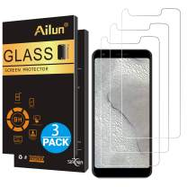 AILUN Screen Protector for Google Pixel 3a[5.6 inch Display],[3Pack],0.33mm Tempered Glass for Google Pixel 3a,Anti-Scratch,Case Friendly