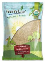 Food To Live Certified Organic Sesame Seeds (Raw, Hulled, Kosher) (12 Pounds)