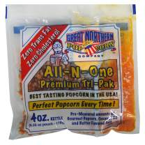 4100 Great Northern Popcorn, 4 Ounce (Pack of 24) Premium Popcorn Portion Packs