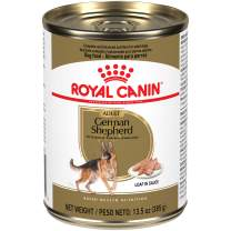 Royal Canin Breed Health Nutrition German Shepherd Adult Loaf in Sauce Canned Dog Food, 13.5 oz Can (Case of 12)
