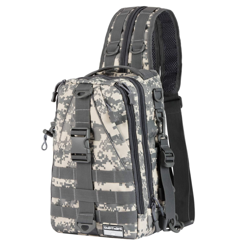 Ghosthorn Fishing Tackle Backpack Storage Bag - Outdoor Shoulder Backpack - Fishing Gear Bag