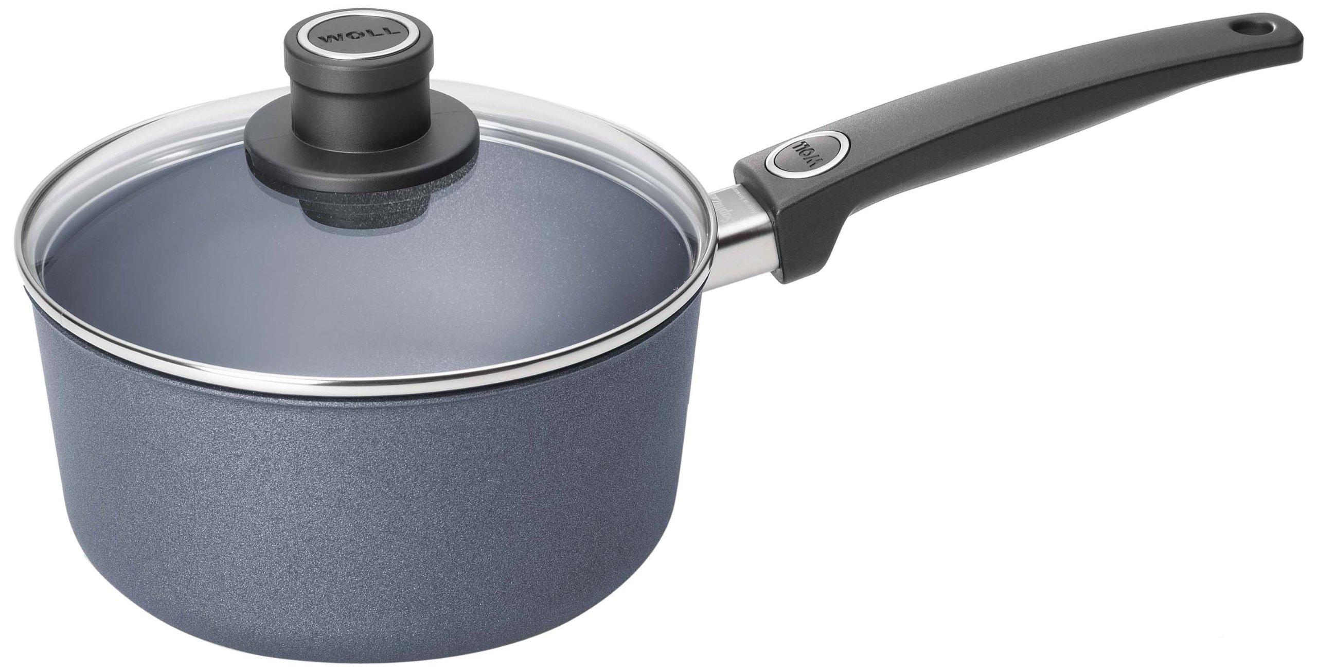 Woll Plus/Diamond Lite Sauce Pan, 3-Quart Saucepan with Lid