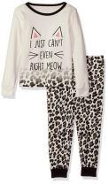 The Children's Place Baby Girls' Full Sleeve 2-Piece Pajama Set