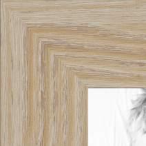 ArtToFrames 19x23 inch Natural Oak - Barnwood Picture Frame, 2WOM76808-972-19x23