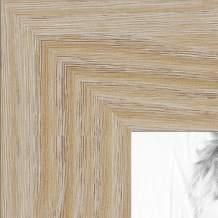 ArtToFrames 15x15 inch Natural Oak - Barnwood Picture Frame, 2WOM76808-972-15x15