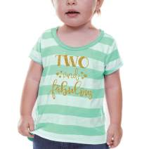 Bump and Beyond Designs Second Birthday Shirt Girl Second Birthday Outfit Green
