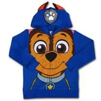Nickelodeon Paw Patrol Character Boy's Hoodie Jacket with Ears