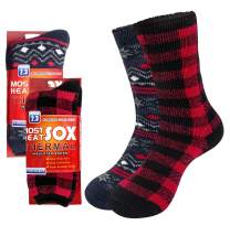 Loritta Thermal Socks for Women, Winter Warm Fuzzy Casual Crew Socks for Cold Weather, Workout & Outdoor Activities