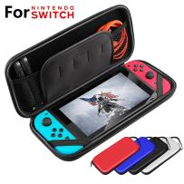 Switch Carrying Case for Nintendo Switch Bag Console & Accessories Compatible Protective Hard Shell Travel Carrying Case Cover Pouch Box Black with Game Card Slots