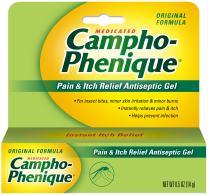Campho-Phenique Pain & Itch Relief Antiseptic Gel, Original Formula, 0.5 Fl Oz