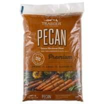 Traeger Grills PEL314 Pecan 100% All-Natural Hardwood Pellets Grill, Smoke, Bake, Roast, Braise and BBQ, 20 lb. Bag
