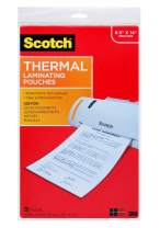 Thermal Laminating Pouches, 8.9 x 14.4-Inches, Legal Size, 20-Pack-New