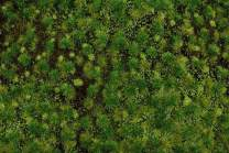 Bachmann Industries SceneScapes Tufted Grass Mat, Medium Green