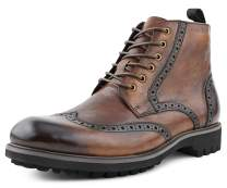 Asher Green AG1822 - Mens Dress Boots, Wingtip Boots for Men - Genuine Leather Lace Up Boots - Fashion Boots, Dress Boots for Men