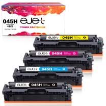 ejet Compatible Toner Cartridge Replacement for Canon 045 045H CRG-045H CRG-045 Toner Cartridge for use with MF634Cdw MF632Cdw LBP612Cdw MF635Cx Printer (1 Black, 1 Cyan, 1 Magenta, 1 Yellow, 4-Pack)