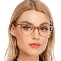 Cat Eye Computer Reading Glasses Designer Blue Light Block Eyeglasses Readers