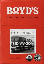 Boyd's Organic Red Wagon Coffee - Dark Roast - Single Cup - (20 Count)