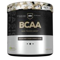 Redcon1 - BCAA, Branched Chain Amino Acids, 30 Servings, 2:1:1, L-Leucine, L-IsoLeucine, L-Valine, Mix with Any Drink, Unflavored - Basic Training Series