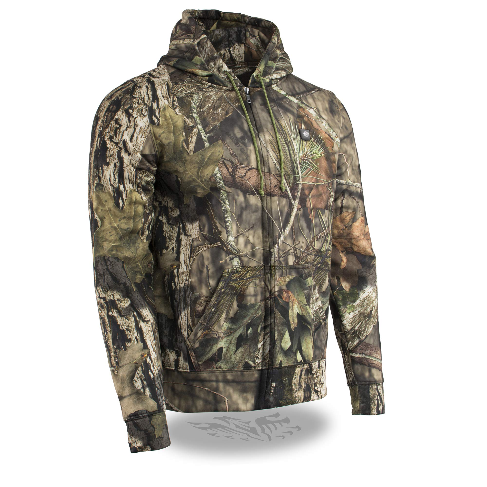Milwaukee Leather Heated Men's Camo Hoodie - Battery Included (Jungle Mossy, XX-Large)