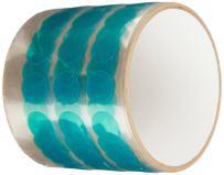 TapeCase Green Powder Coating Discs - 3/4'' Discs - 250/roll (1 Pack)