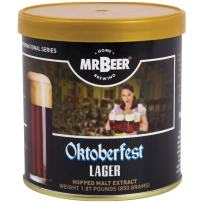 Mr. Beer Lager 2 Gallon Homebrewing Refill, Brown