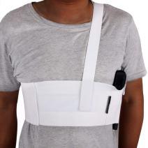 M LINIXU TIMEBONA Deep Concealment Shoulder Holster White