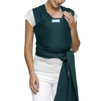 Moby Classic Baby Wrap for Parents On The Go | Ideal for Baby Wearing & Breastfeeding | Pacific | Compatible for Newborns, Infants, and Toddlers