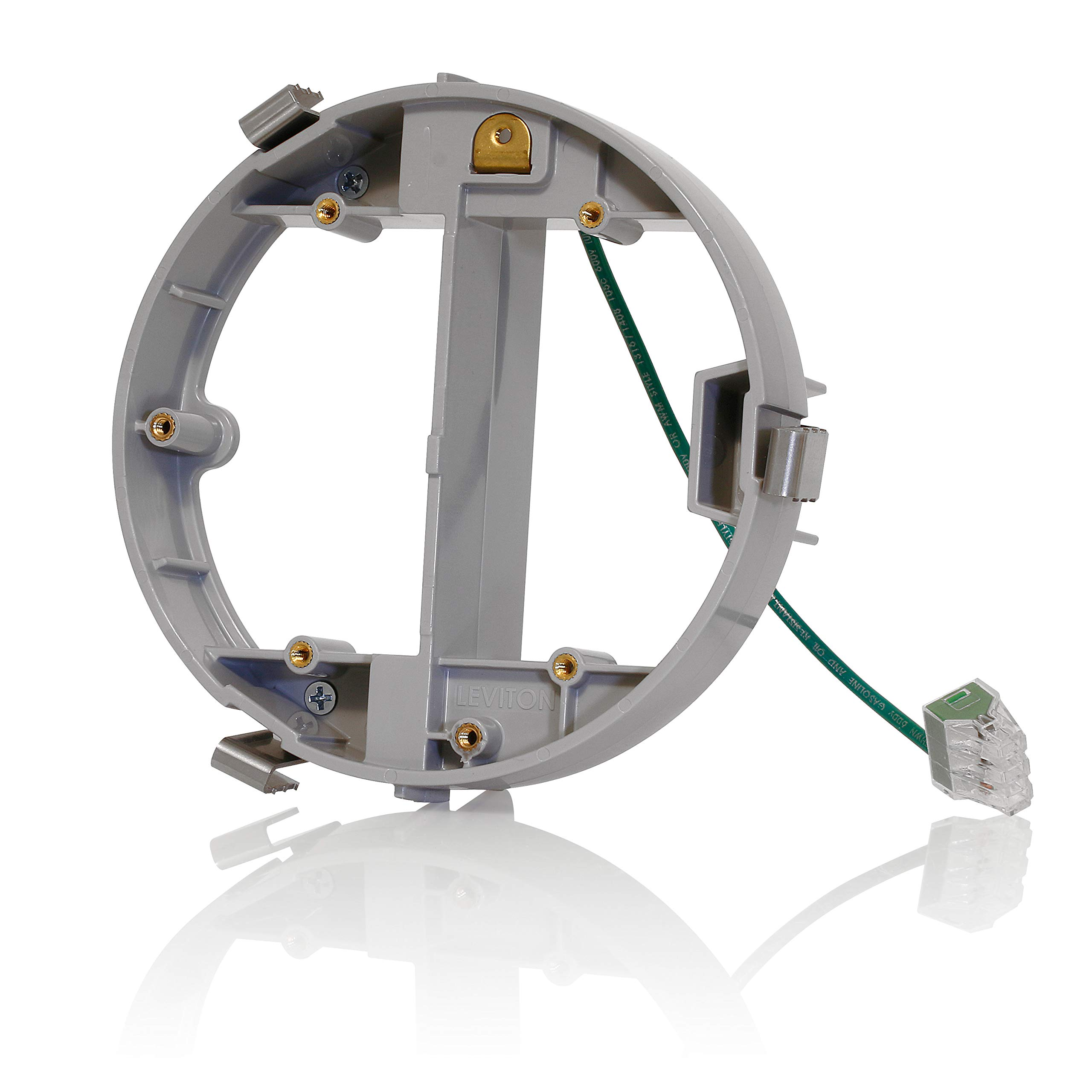 Leviton FBLEV-GY Concrete Floor Box Leveling Ring