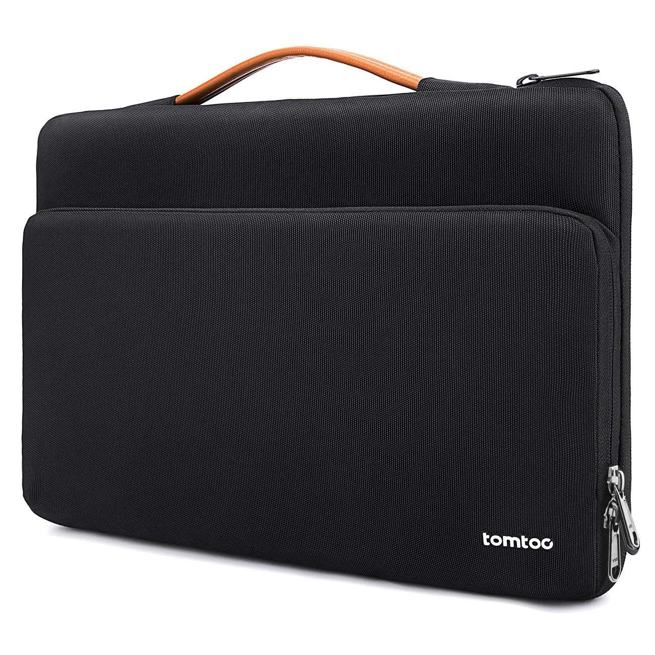 tomtoc 360 Protective Laptop Case Sleeve for 13.5 Inch Surface Laptop 3/2/1, Surface Book 2/1, Water-Resistant Laptop Case for 13 Inch Old MacBook Air, Old MacBook Pro Retina, Ultrabook Accessory Bag