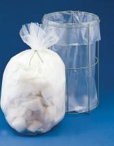 Bel-Art H13182-0810 Clavies Transparent 8W x 10 in. H Autoclavable Bags; Polypropylene, 2 mil Thick (Pack of 100)