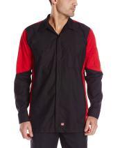 Red Kap Men's Long Sleeve Crew Shirt