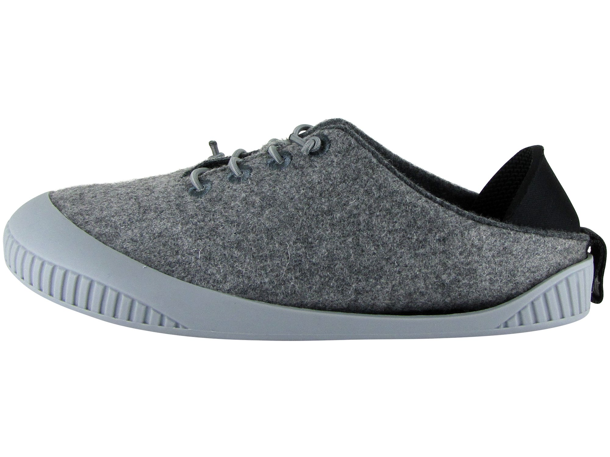 Dualyz Fit Unisex 100% Wool Slipper Shoe with Removable Sole