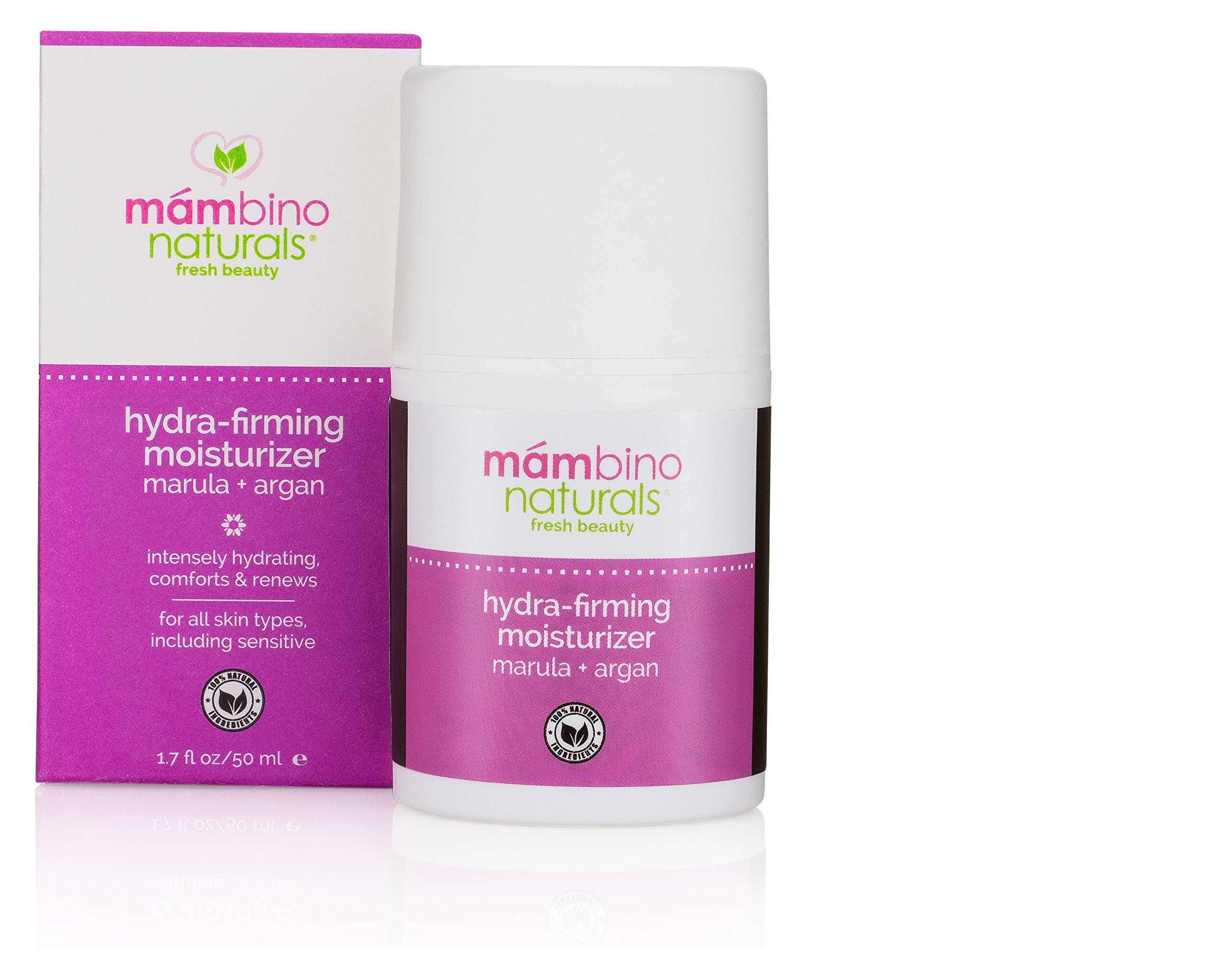 Mambino Organics NEW-Hydra-Firming Moisturizer, Marula + Argan 1.7 FL Oz (1 Pack)