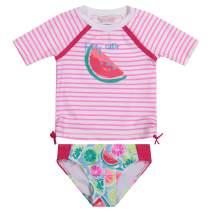 Tommy Bahama Girls' 2-Piece Shirt and Bikini Bottom Swim Set