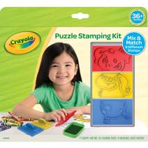 Crayola My First Animal Stamper Set, Coloring & Learning Toys for Toddlers, Toddler Gift, Over 40 Pieces