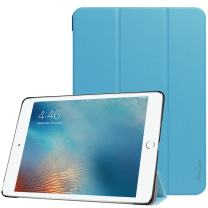 ProCase iPad 9.7 Case, Slim Stand Hard Shell Case Smart Cover for iPad 9.7 2018 iPad 6th Generation / 2017 iPad 5th Generation -Blue