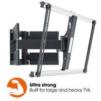 Vogel's Thin 550 Ultra Strong Low Profile Premium TV Wall Mount for XXL Heavy TVs up to 100 inch / 154 Pound, Full Motion 120° Swivel and 20° Tilt, VESA max. 600x400, Black