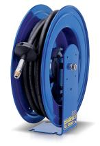 """Coxreels EZ-E-HP-130 Safety Series Spring Rewind Hose Reel for grease / hydraulic oil: 1/4"""" I.D., 30' hose capacity,  5000 PSI"""
