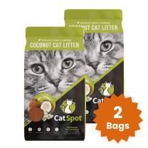 CatSpot Litter: Coconut Cat Litter, Biodegradable, All-Natural, Lightweight & Dust-Free
