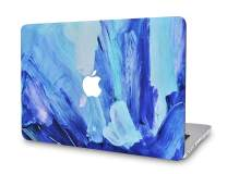 "LuvCase Laptop Case for Old MacBook Pro 13"" (CD Drive, 2008-2012) A1278 Rubberized Plastic Hard Shell Cover (Oil Paint 5)"