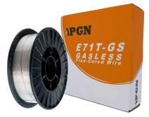 """PGN - E71T-GS .030"""" (0.8 mm) Gasless Flux Core Mild Steel MIG Welding Wire - 10 Lbs Spool"""