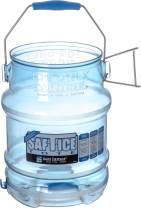 San Jamar Shorty Saf-T-Ice Commercial Ice Tote, 5 gal, (1 Pack)