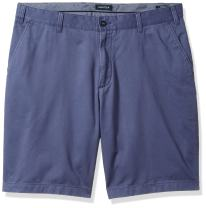 Nautica Men's Big and Tall Cotton Twill Flat Front Chino Short