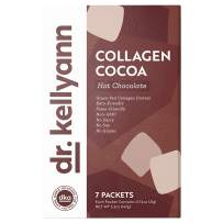Keto Cocoa Hot Chocolate Packets to Go by Bone Broth Expert Dr. Kellyann - 100% Grass-Fed Collagen, Coconut Milk & Cocoa Powder - Perfect for Keto, Paleo & Weight Loss Diets - 0g Sugar (7 Servings)