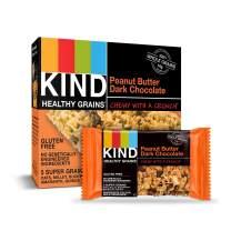 Kind Healthy Grains Granola Bars, Peanut Butter Dark Chocolate, 1.2 oz 5-Count