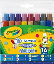 Crayola Pip Squeaks Tiplets Markers, Assorted Colors, 16 Count
