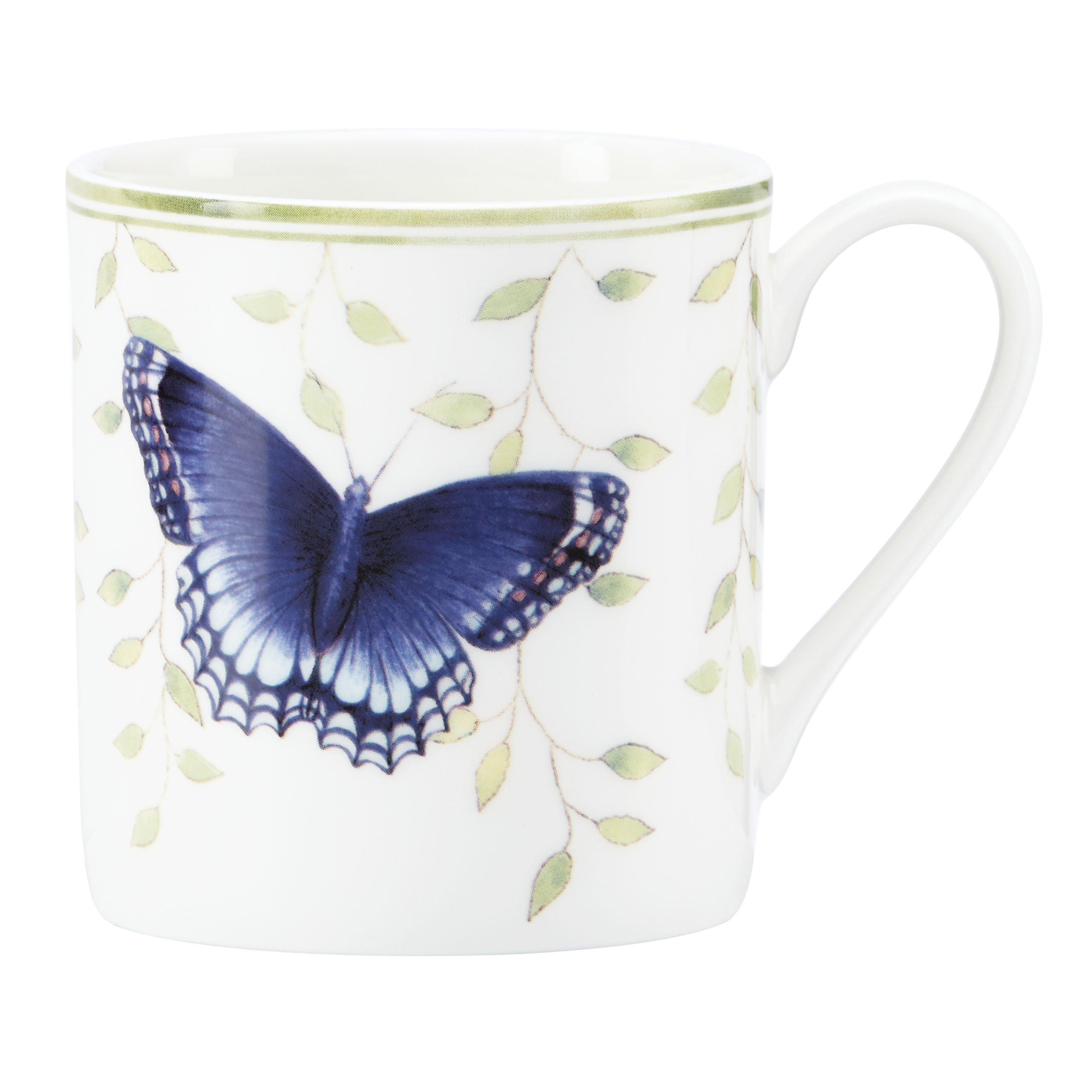 """Lenox Butterfly Meadow """"Relax"""" Mug"""