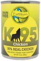 Earthborn Holistic K95 Chicken Recipe Grain-Free Canned Moist Dog Food