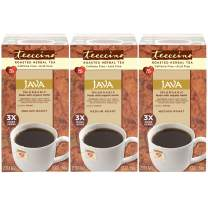 Teeccino Herbal Tea – Java – Roasted Chicory Tea, Prebiotic, Caffeine Free, Acid Free, Coffee Alternative, 25 Tea Bags (Pack of 3)