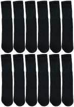 Yacht & Smith Mens & Womens Wholesale Bulk Cotton Tube Socks, Referee Style, by SOCKS'NBULK